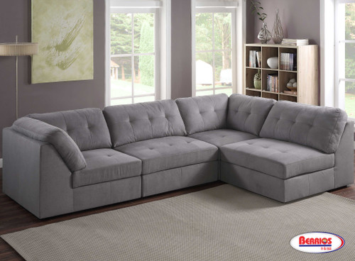 9377 Cosmo Grey Sectional