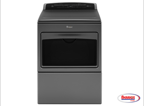 85401 | Whirlpool® 7.4 cu.ft Top Load HE Electric Dryer with AccuDry™ , Intuitive Touch Controls