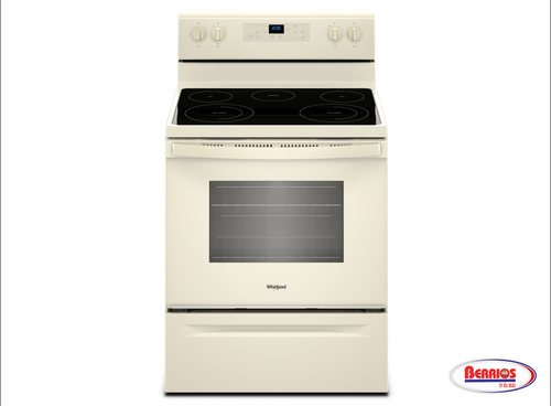 85410   Whirlpool® 5.3 cu. ft. Freestanding Electric Range with Frozen Bake™ Technology