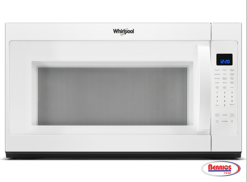 85416    Whirlpool® 2.1 cu. ft. Over-the-Range Microwave with Steam cooking