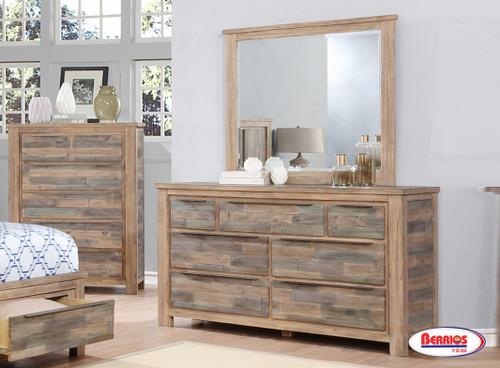 8020 Macon Dresser and Mirror