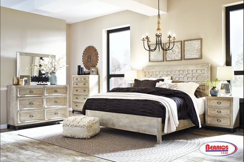 B730 Halamay Gray Bedroom