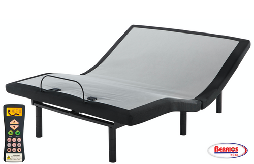 Ashley Sleep Dream Destination in Black Adjustable Base