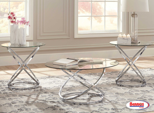 270 Hollynyx 3-Pack Occasional Table Set