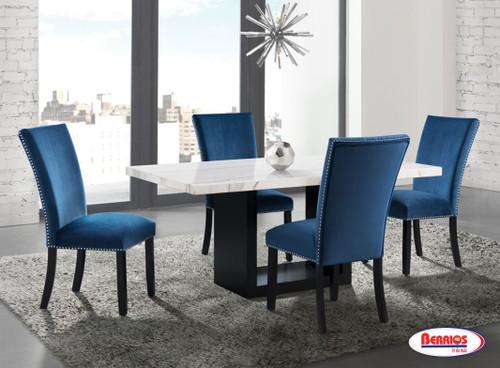 CVL500   Valentino Blue Dining Room