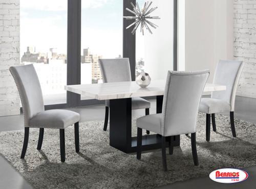 CVL500 | Valentino Grey Dining Room
