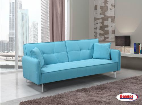 85069 Sofa Cama Azul Claro