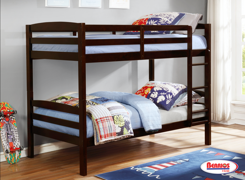 ACB801E Expresso Twin Bunk Bed