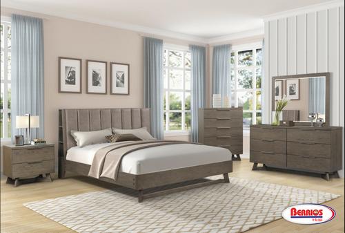 SB931 Sweden Gray Bedroom