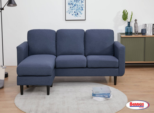 85599 Corner Blue Sectional