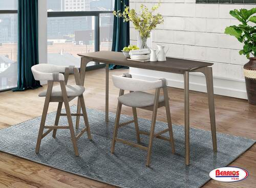 5020 Gray Counter Height Dining Room