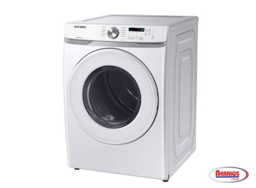 87183 Samsung  Secadora 7.5' F/Load Eléctrica Smart Blanca