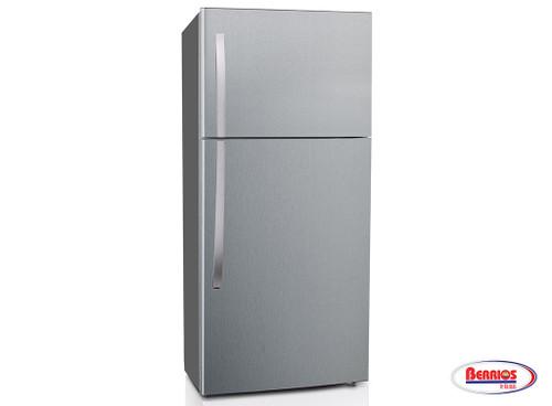 62173 Midea Refrigerator 18.1' - Stainless Steel