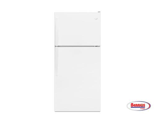 65955 Whirlpool 30-inch Wide Top-Freezer Refrigerator with Flexi-Slide™ Bin - 18.2 cu. ft.