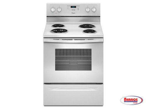 66436 Whirlpool 4.8 Cu. Ft. Freestanding Counter Depth Electric Range
