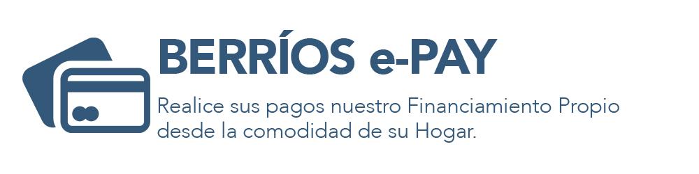 Paga la cuenta de Berrios Online