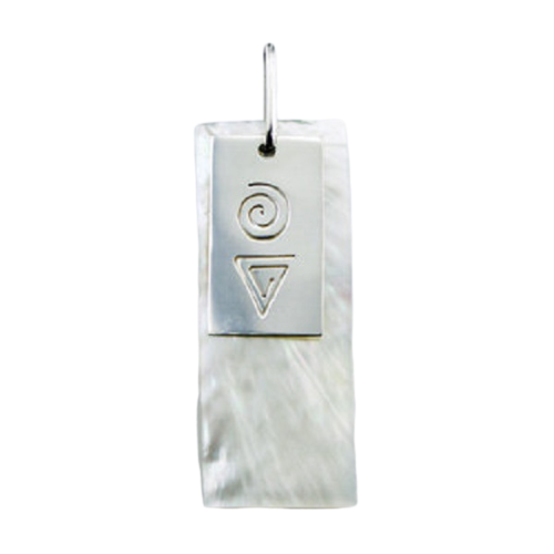 Mother Of Pearl Pendant Contemporary