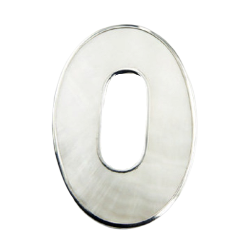 Mother Of Pearl Pendant Open Oval