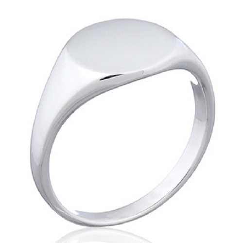 Ring 925 Sterling Silver Round Design