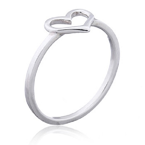 Ring 925 Sterling Silver Love Heart