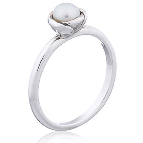 Ring 925 Sterling Silver Freshwater Pearl