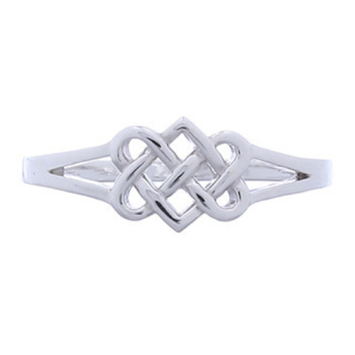 Ring 925 Sterling Silver Celtic Irish Knot