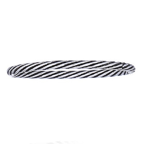 Stack Ring Sterling Silver Twisted Wire