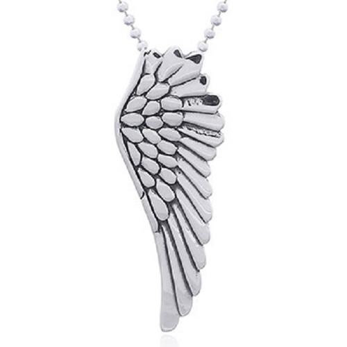 Silver Pendant Angel Wing