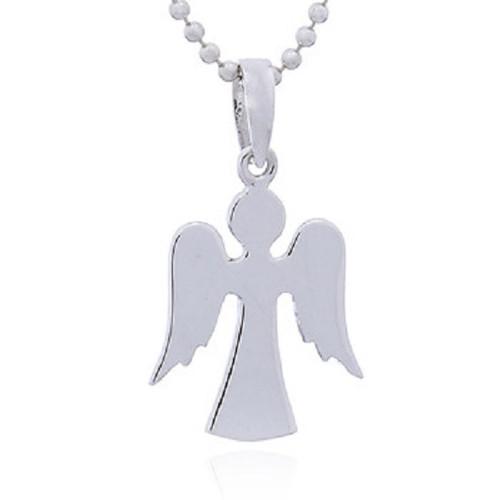 Silver Pendant Dainty Angel