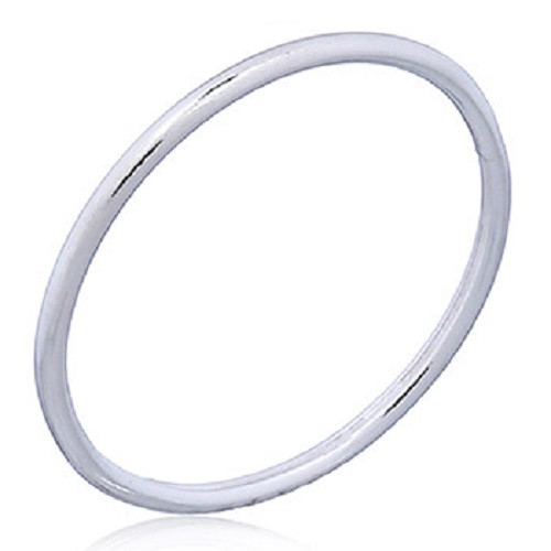 Stack Ring Sterling Silver Round Wire