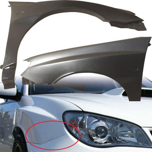 VSaero FRP LSPO WRC Custom Wide Body Fenders (front) > Subaru Impreza WRX 2006-2007 > 4/5dr
