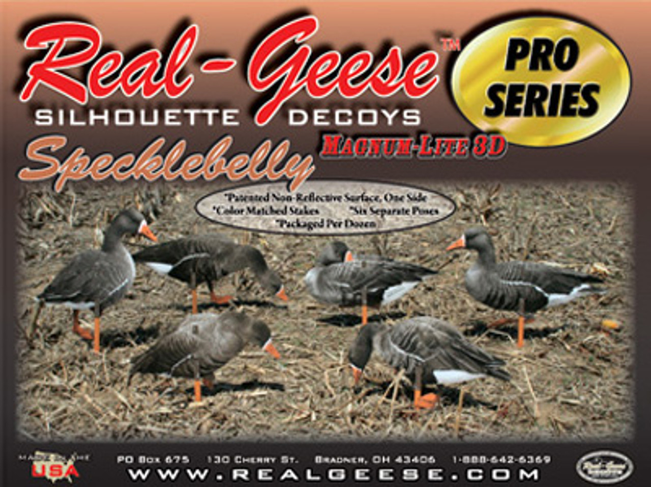 Real-Geese Pro Series Specklebelly Silhouettes