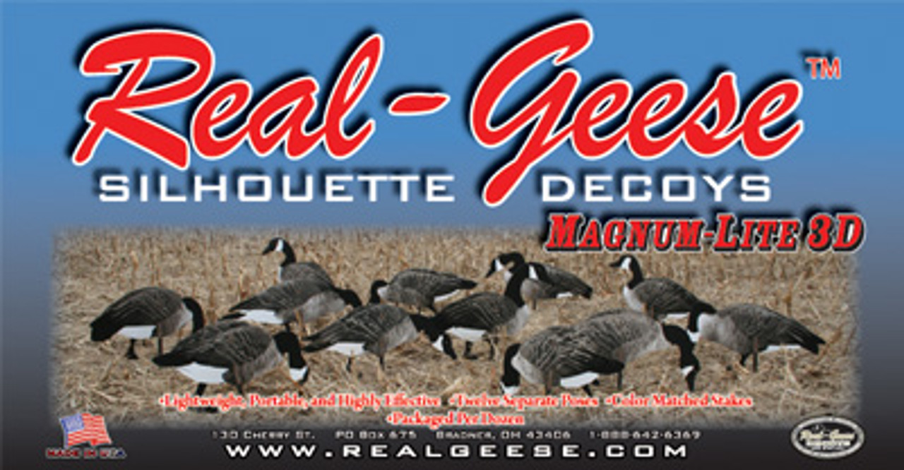 Real-Geese 3D Magnum Lite Canada Goose Silhouettes
