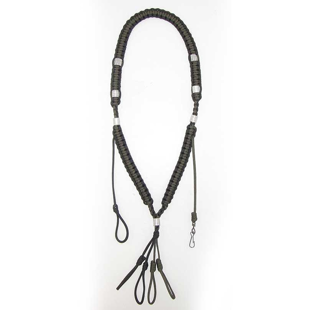 Heavy Hauler Cobra Flat Braid Lanyard w/Whistle - Model D3