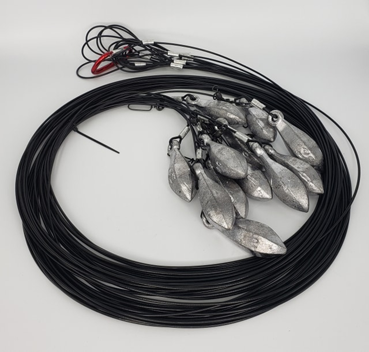 "12"" 10 Ounce Coated Cable Premium Superior Rigs"