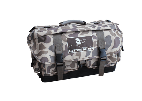 Lifetime Decoys Old School Camo Blind Bag