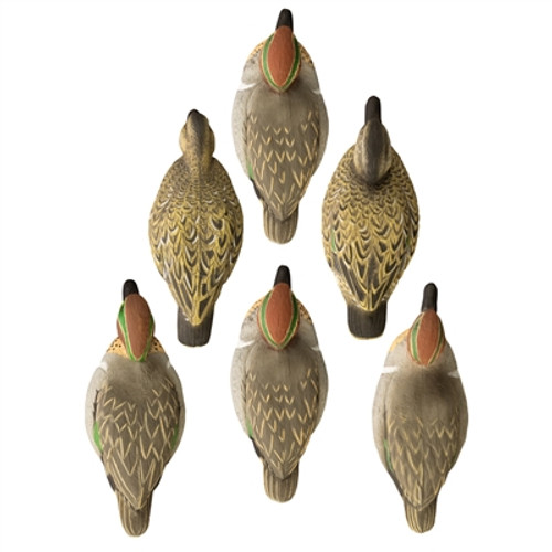 Higdon Standard Green Wing Teal, Foam Filled
