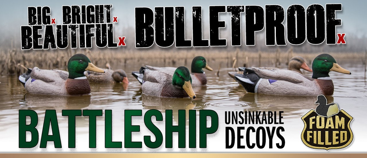 Shop Higdon Battleship Decoys