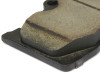 Premium Brake Pads feature O.E. style chamfers and gas slots. These details further prevent pad vibration and noise. Gas slots in the friction material work to improve heat dissipation and eliminate issues with out gassing.