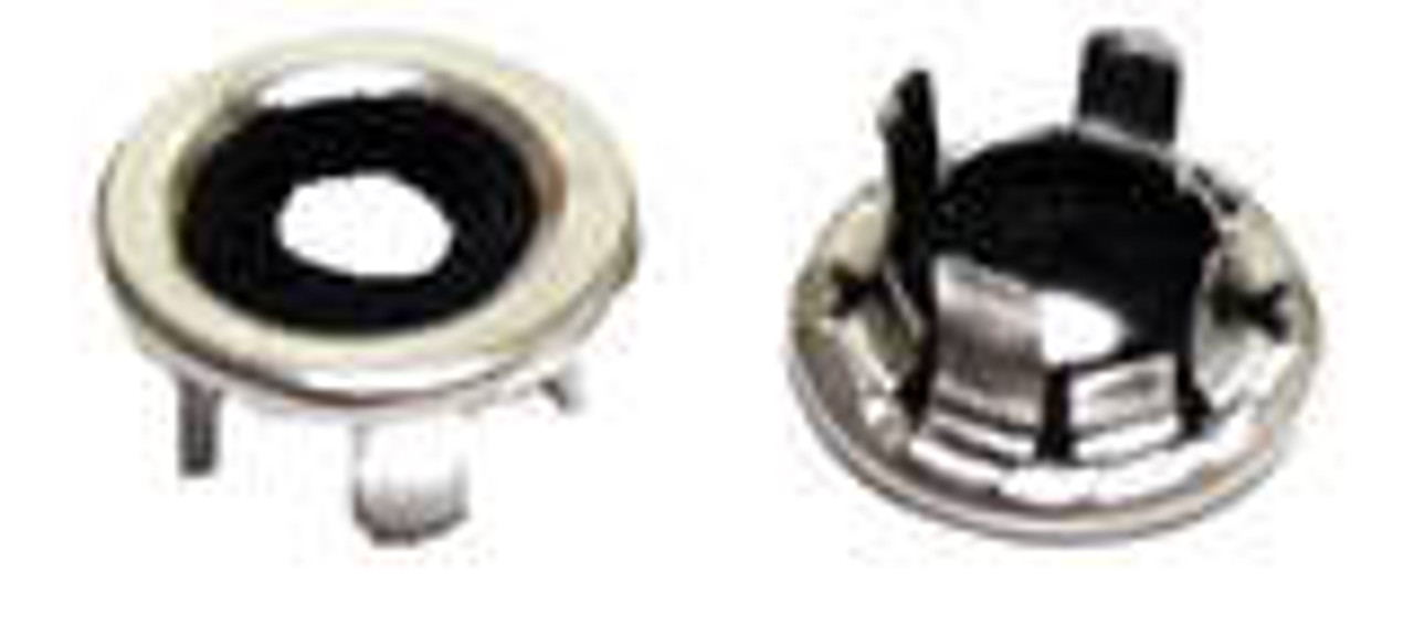 POLISHED STAINLESS STEEL GROMMETS