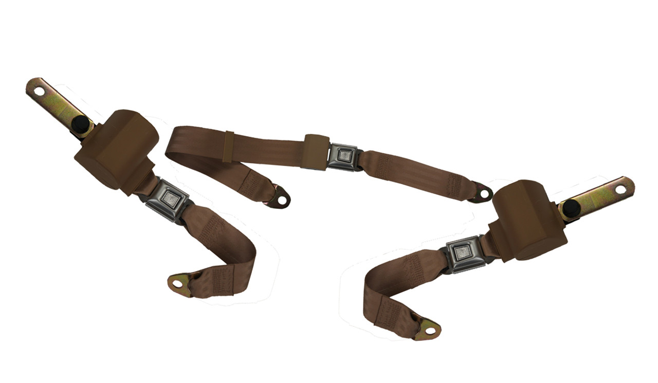 Rear Retractable Seat Belts
