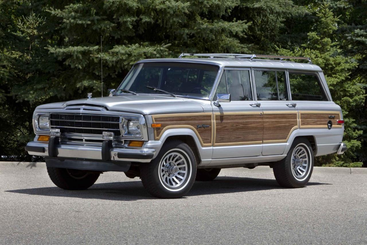 Jeep Grand Wagoneer >> Marine Teak Woodgrain Vinyl Kit Gw 1987 1991