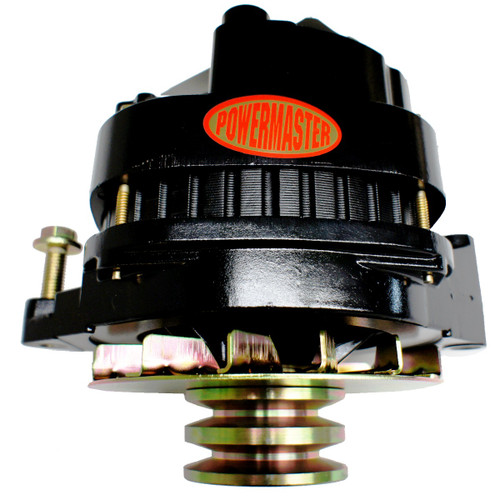 BLACK POWDER COATED 200 AMP ALTERNATOR # 57806