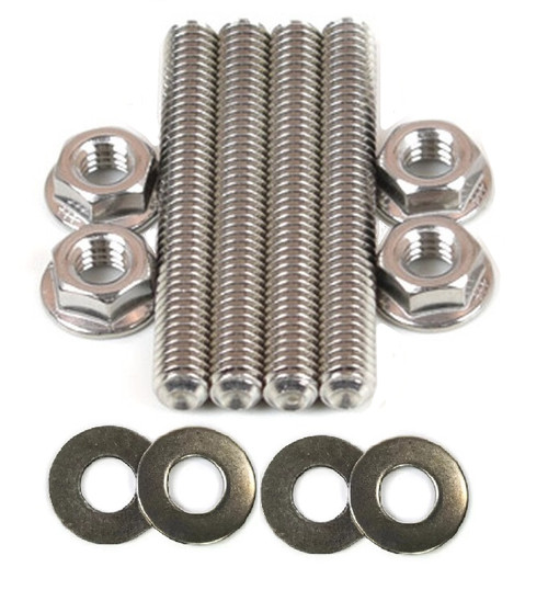 STAINLESS STEEL CARBURETOR MOUNTING STUD SET