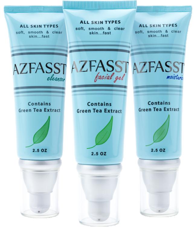 Azfasst Green Tea Skin Care Set