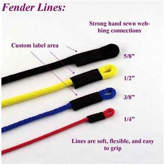 "Soft Lines 3/8"" Fender Lines"