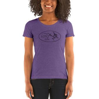 Women's low neck t-shirt - Free shipping!
