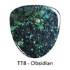 Revel Dip Powder | Treasure Trove Collection | TT8 OBSIDIAN 2 oz