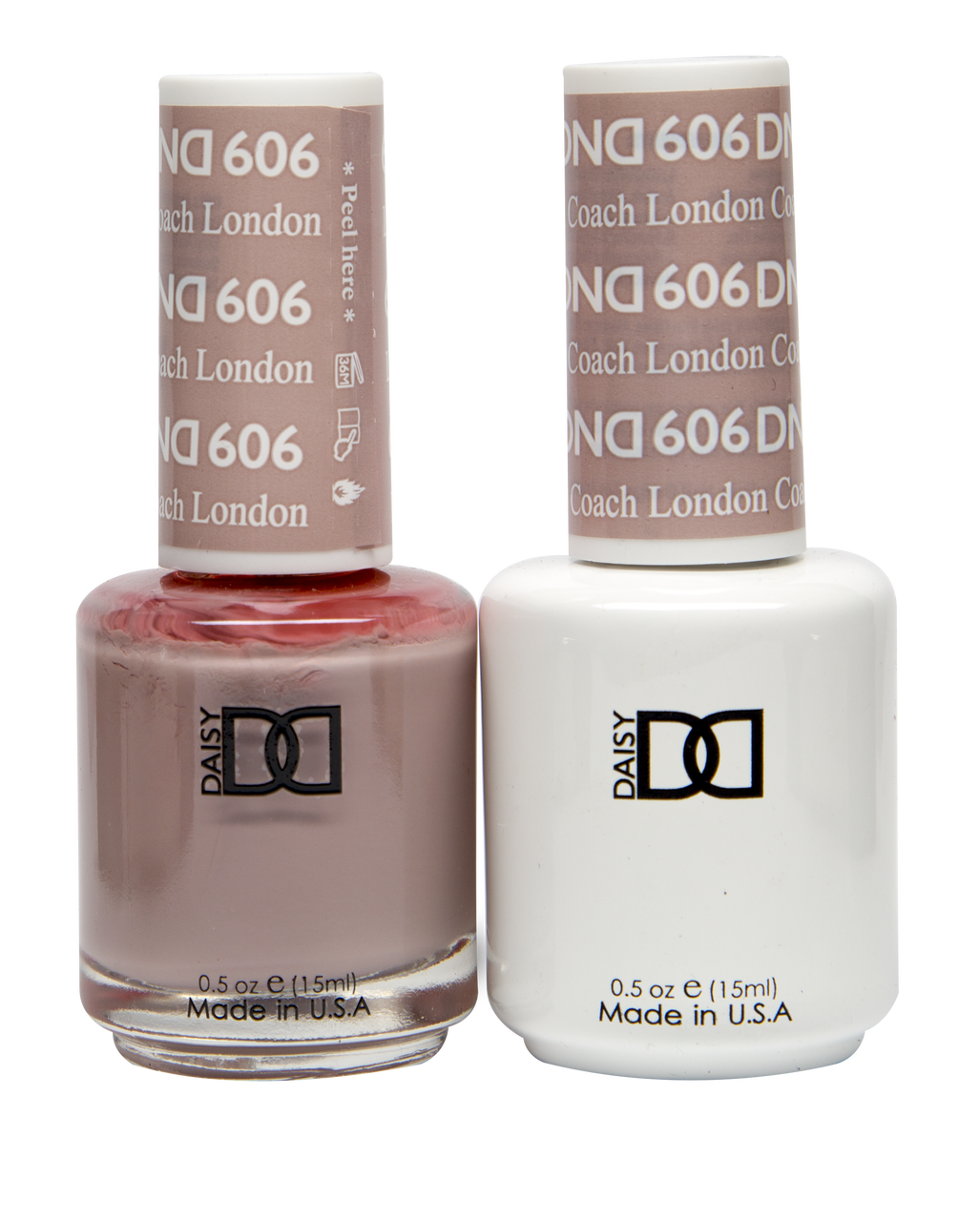 Dnd Soak Off Gel Polish Duo Diva Collection London Coach 606 Max Beauty Source