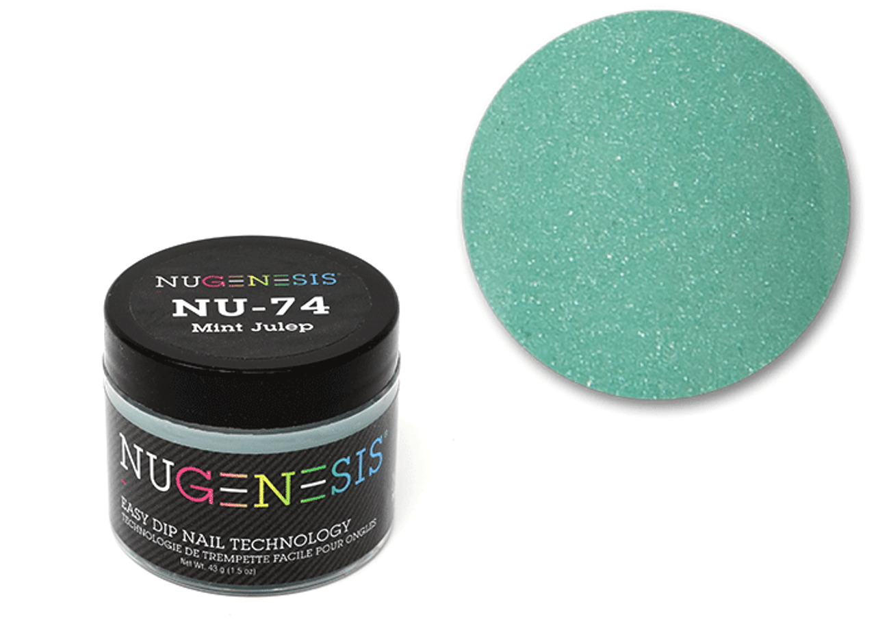 Nugenesis Easy Nail Dip Classic Collection | NU 74 Mint Julep |